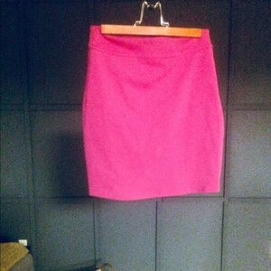 Urban Outfitters hot pink mini skirt